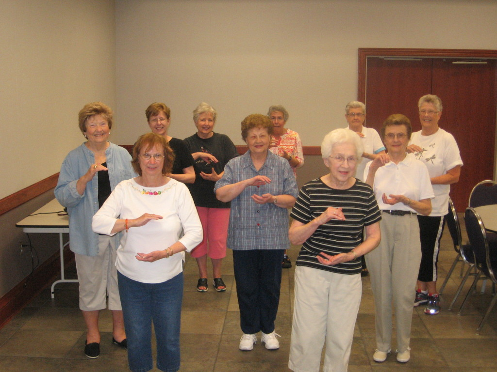 Tai Chi class in action!!!!!!!!!!!!